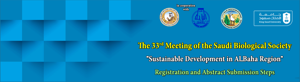 The 33rd Meeting - Registration and Abstract Submission Steps