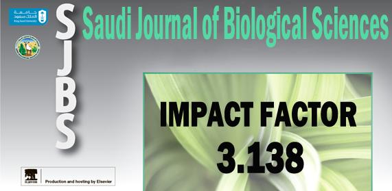 SJBS Impact Factor - Saudi Journal of Biological Sciences  Impact...